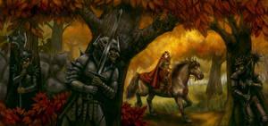 Ambush in the Woods by feliciacano