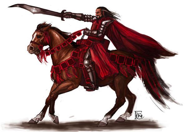 Knight Sketch by feliciacano