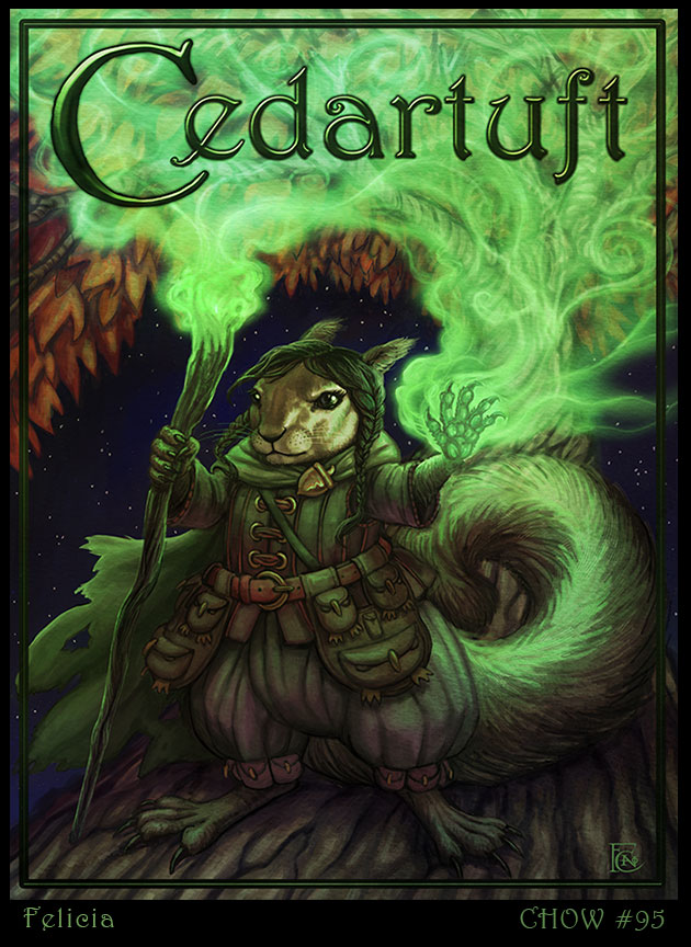 Cedartuft by feliciacano