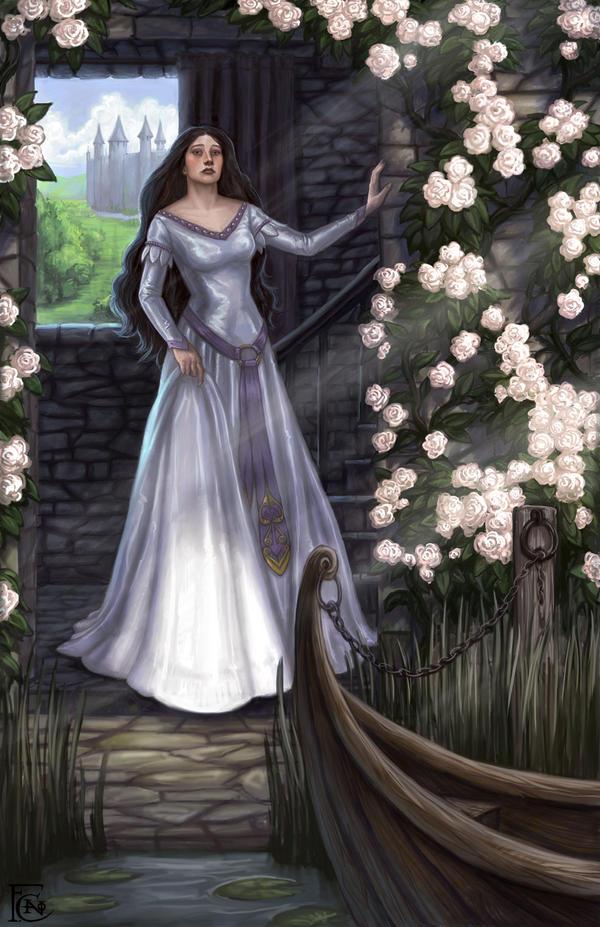 The Lady of Shalott by feliciacano