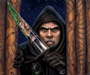 Underhanded Assassin by feliciacano