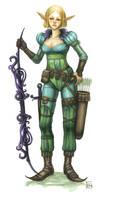 Elven Ranger- Color