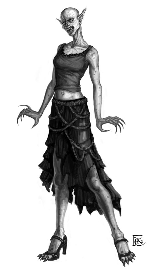 Fashionable Nosferatu Sketch by feliciacano