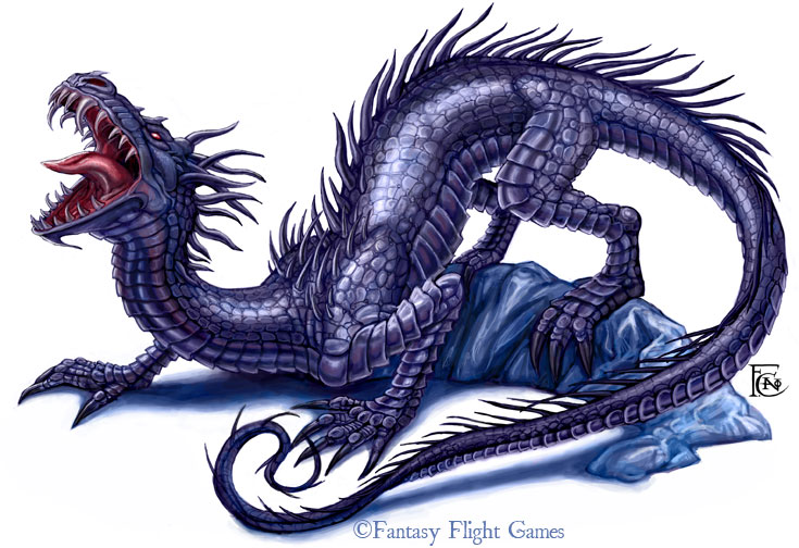 Wyrm for Descent by feliciacano