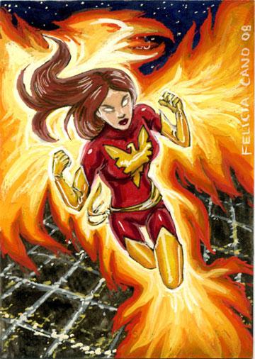 Dark Phoenix by feliciacano