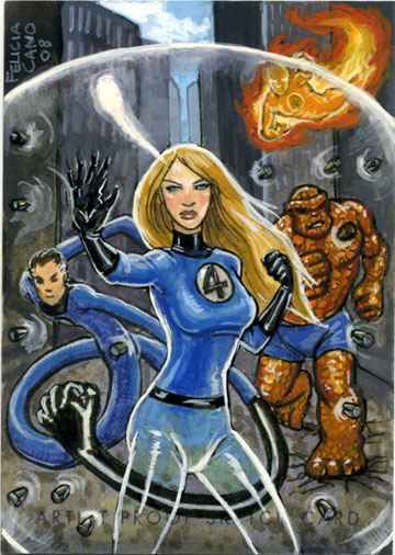 Invisible Woman by feliciacano