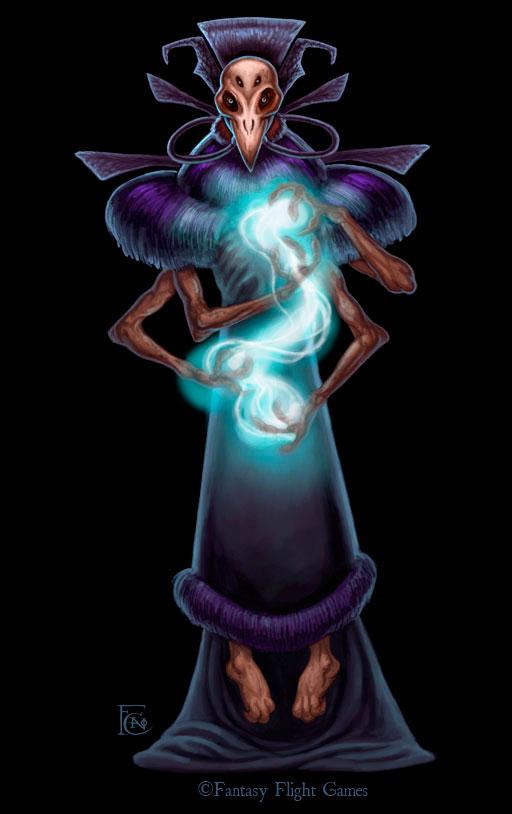 Sorcerer for Cosmic Encounter by feliciacano