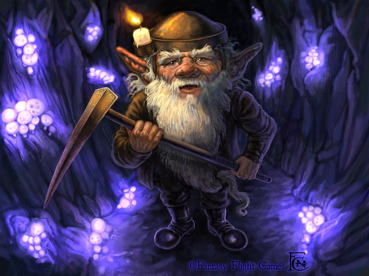 Lone Dwarf by feliciacano