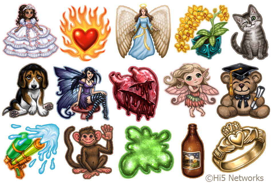 Hi5 Gift Icons 2 by feliciacano