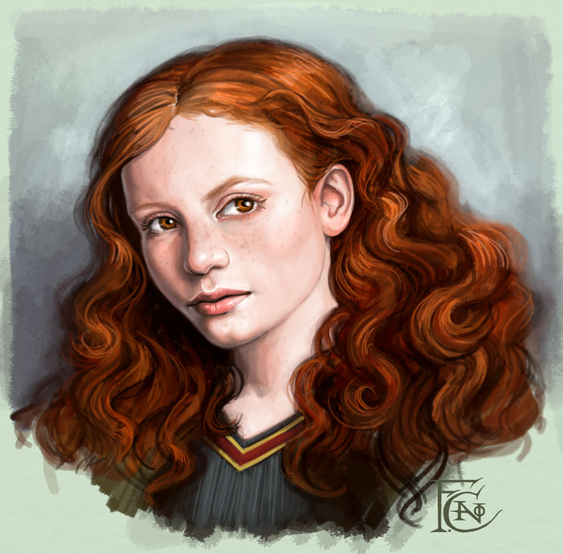 Ginny Sketch by feliciacano
