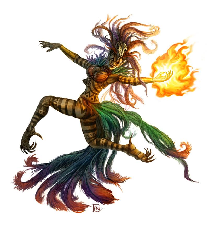 Spirit Dancer by feliciacano