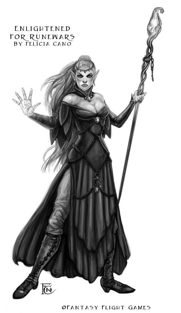 Enlightened for RuneWars by feliciacano