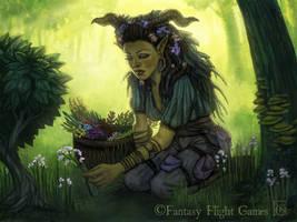 Herbalist for Talisman by feliciacano
