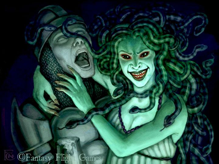 Medusa for Talisman by feliciacano