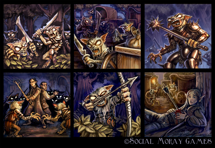 Legend of Spirehold Art 1 by feliciacano