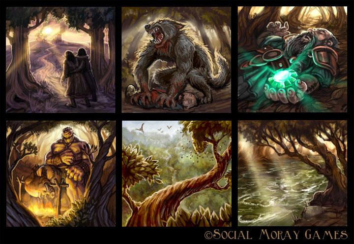Legend of Spirehold Art 2 by feliciacano