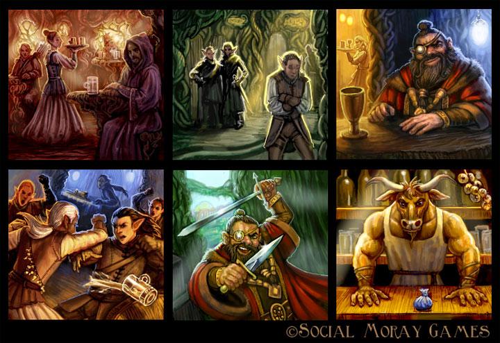 Legend of Spirehold Art 3 by feliciacano