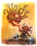 Beholder and Drow