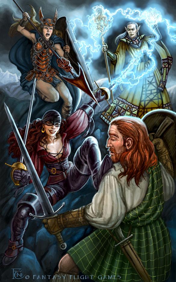 Battle Royale for Talisman by feliciacano