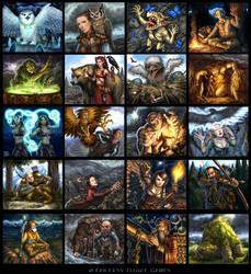 Talisman Highland Cards