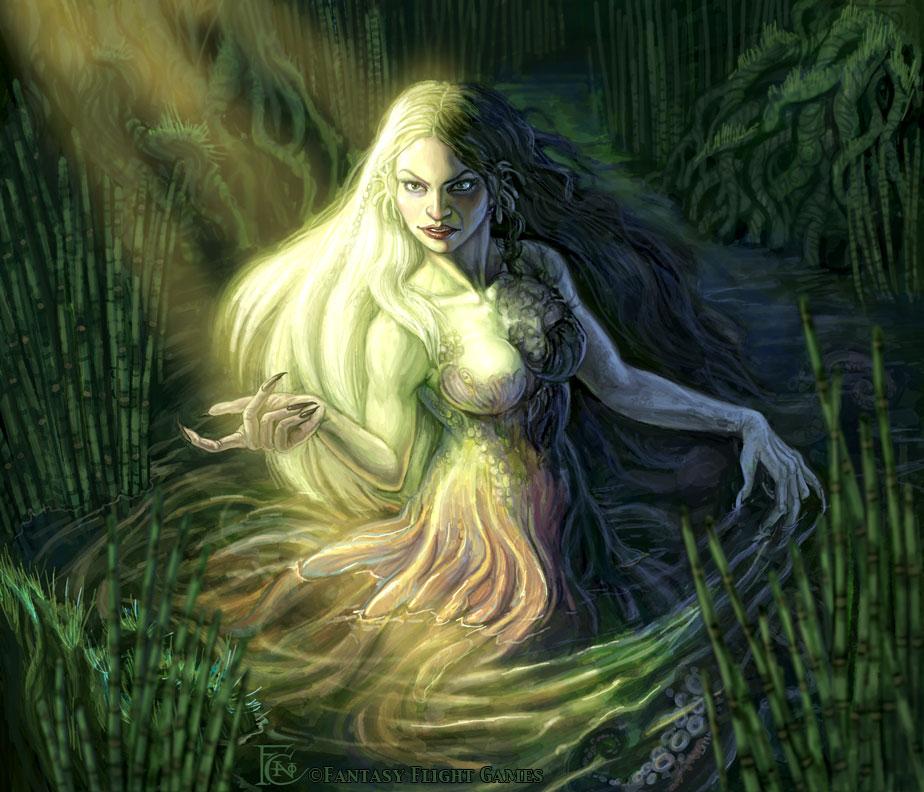 Swamp Siren for Talisman by feliciacano
