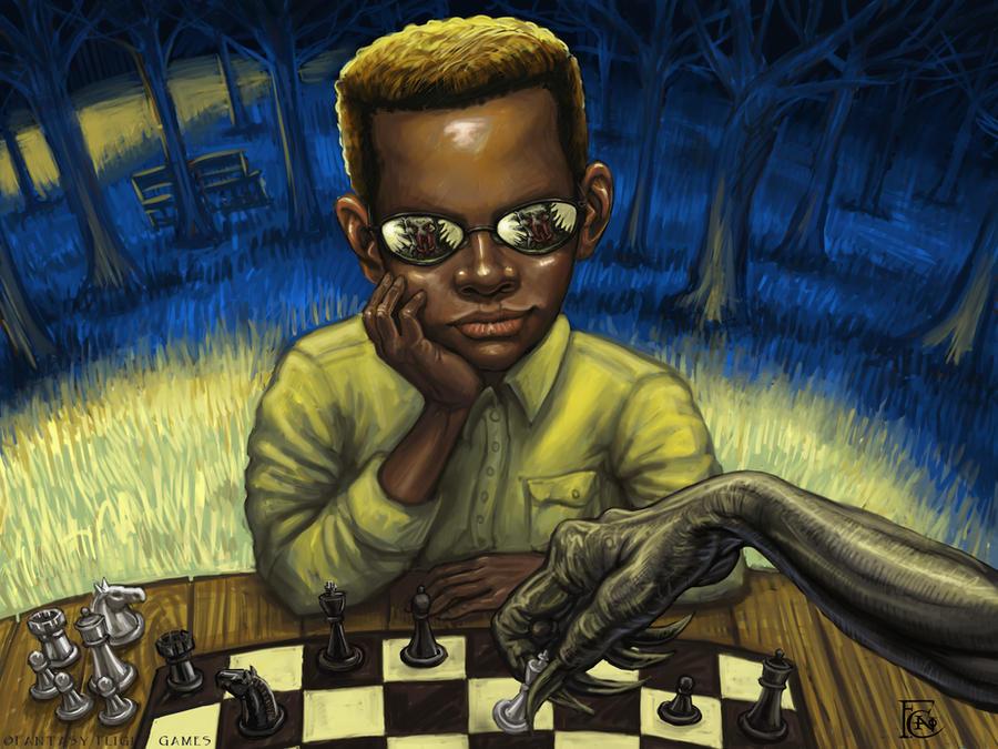Chess Whiz by feliciacano