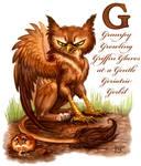 Grumpy Growling Griffin...
