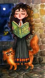 Hermione Sketch by feliciacano