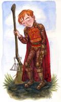 Ron Weasley by feliciacano