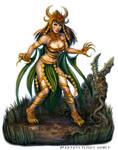 Dragon Priestess for Talisman