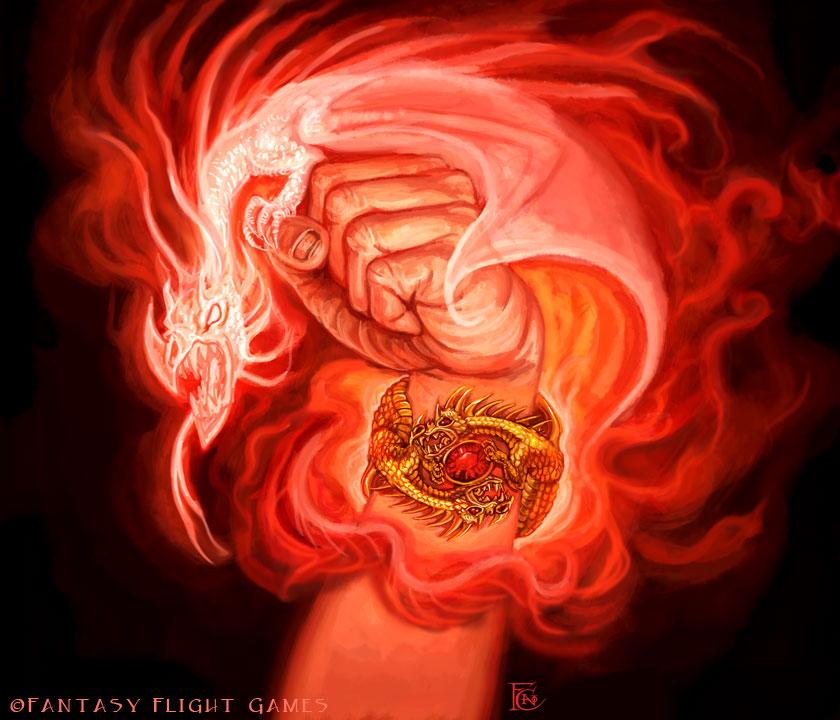 Dragon Bracelet for Talisman by feliciacano