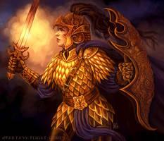 Dragonscale Shirt for Talisman by feliciacano