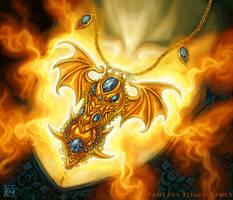 Dragon Amulet for Talisman by feliciacano