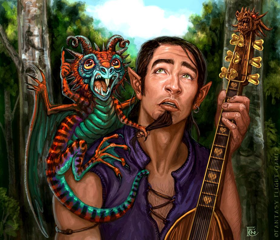 Dragonet for Talisman by feliciacano