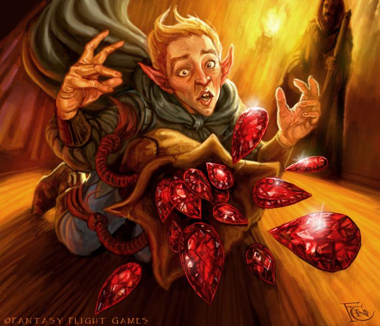 Dragon Tears for Talisman by feliciacano