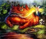 Toad Dragon for Talisman