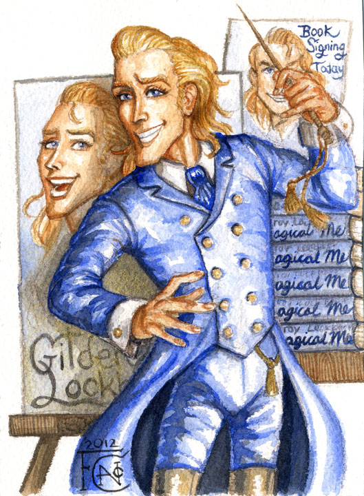 Gilderoy Lockhart Sketch by feliciacano