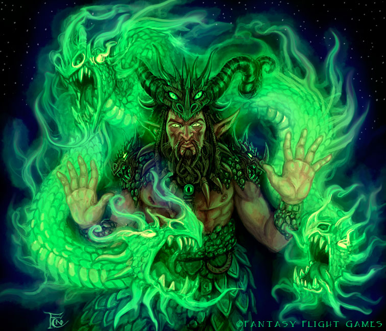 Grilipus Druid for Talisman by feliciacano