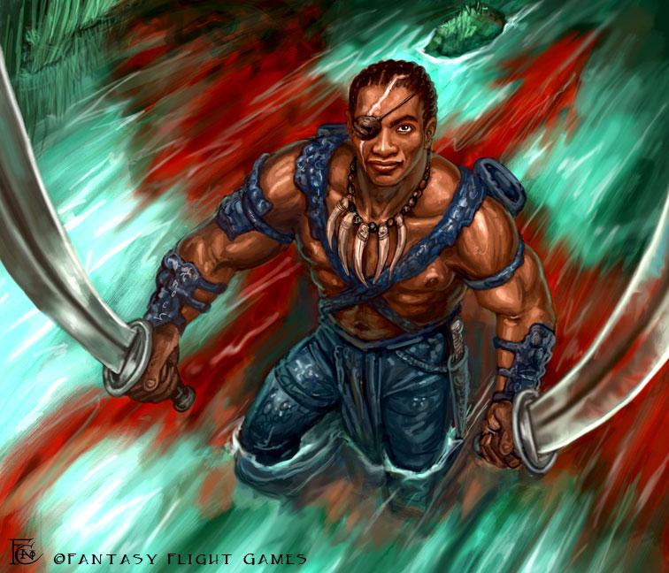 Wyrm Slayer for Talisman by feliciacano