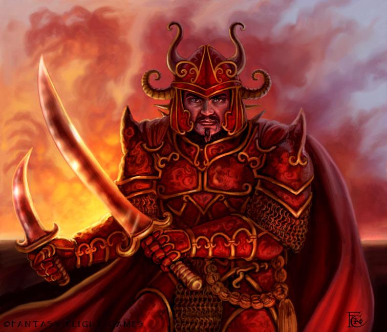 Varthrax Warrior for Talisman by feliciacano