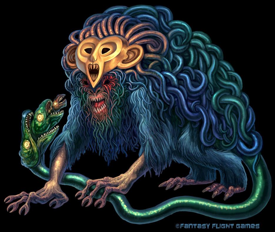 Gorgon for Cosmic Encounter by feliciacano