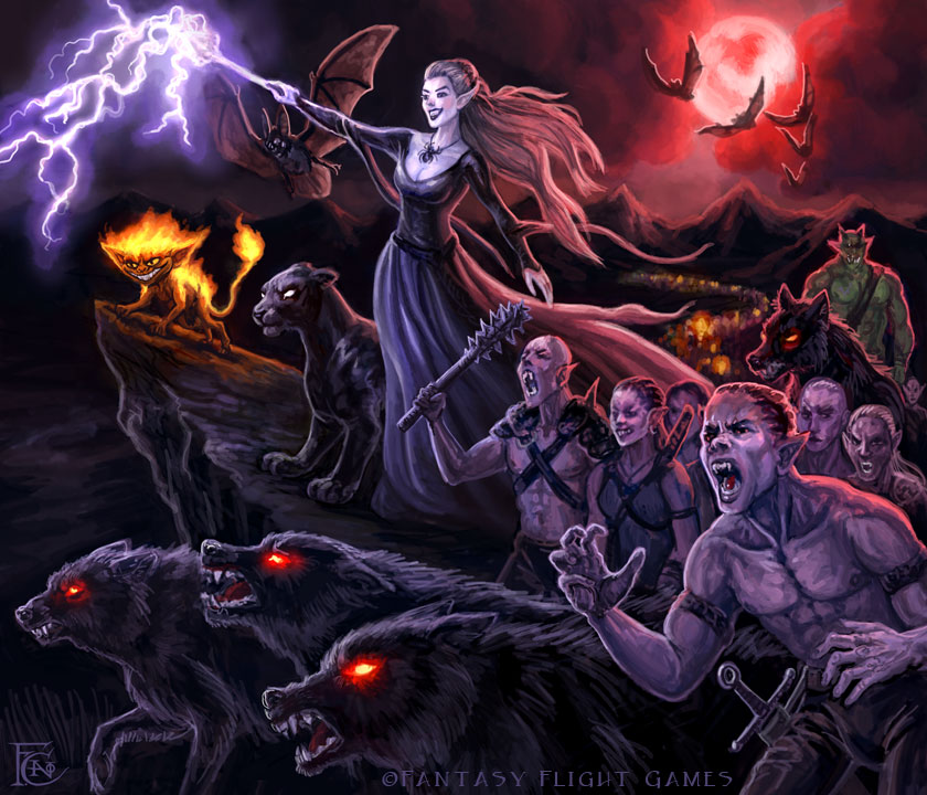 Children of the Night for Talisman by feliciacano