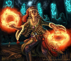 Witch Finder for Talisman by feliciacano