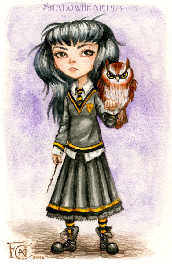 Pottermore Character by feliciacano