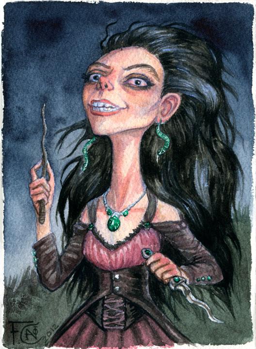 Bellatrix by feliciacano