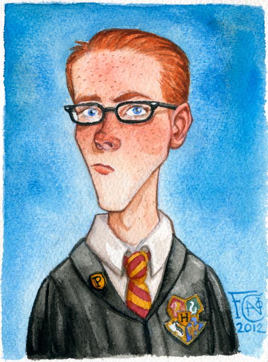Percy Weasley by feliciacano