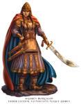 Warlord for Talisman the Firelands