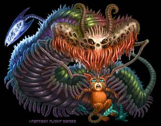 Demon for Cosmic Encounter by feliciacano
