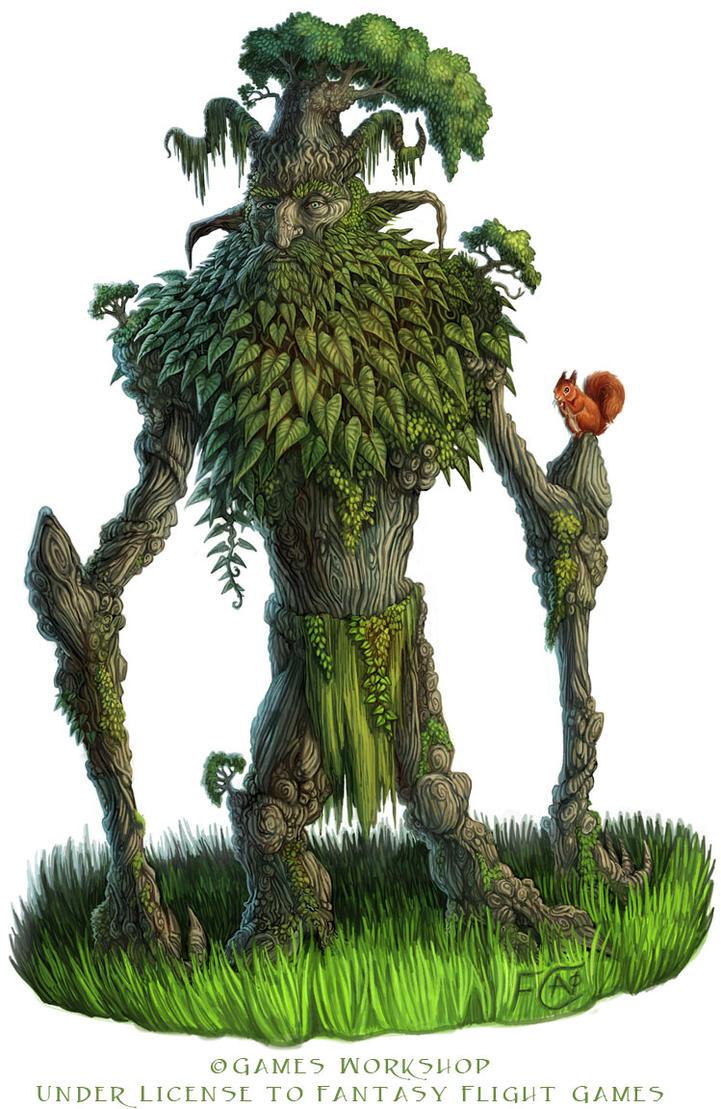Ancient Oak for Talisman by feliciacano