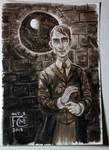 Professor Lupin Painting